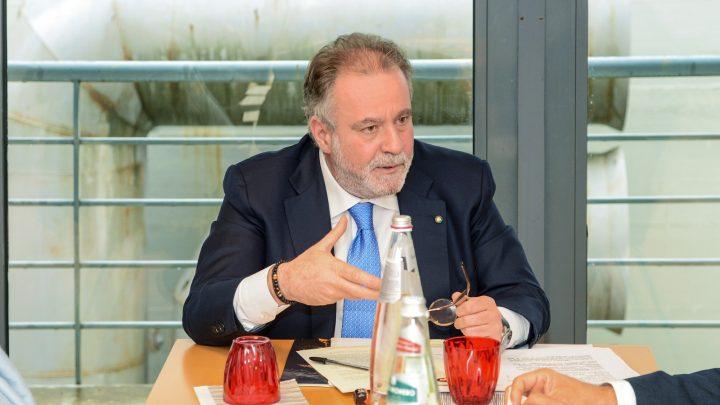 Rapporto Svimez, il commento del presidente Giuseppe Bisogno