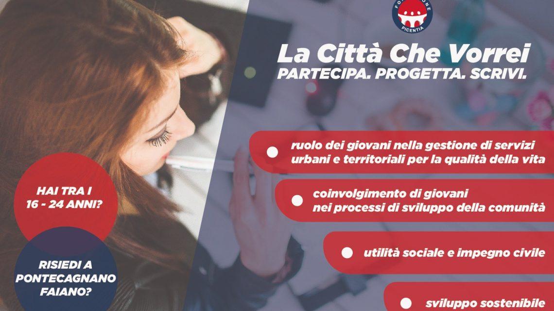 «La Città che Vorrei»: il contest della Fondazione Picentia