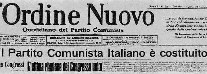 Cent'anni fa nasceva il Partito Comunista