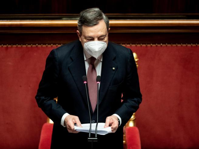 Le riforme di cui ha parlato Draghi al Senato