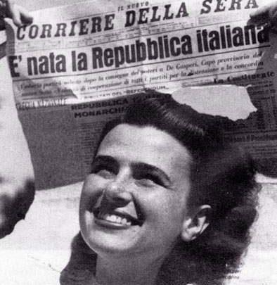 Settantasei anni fa l'estensione di voto alle donne