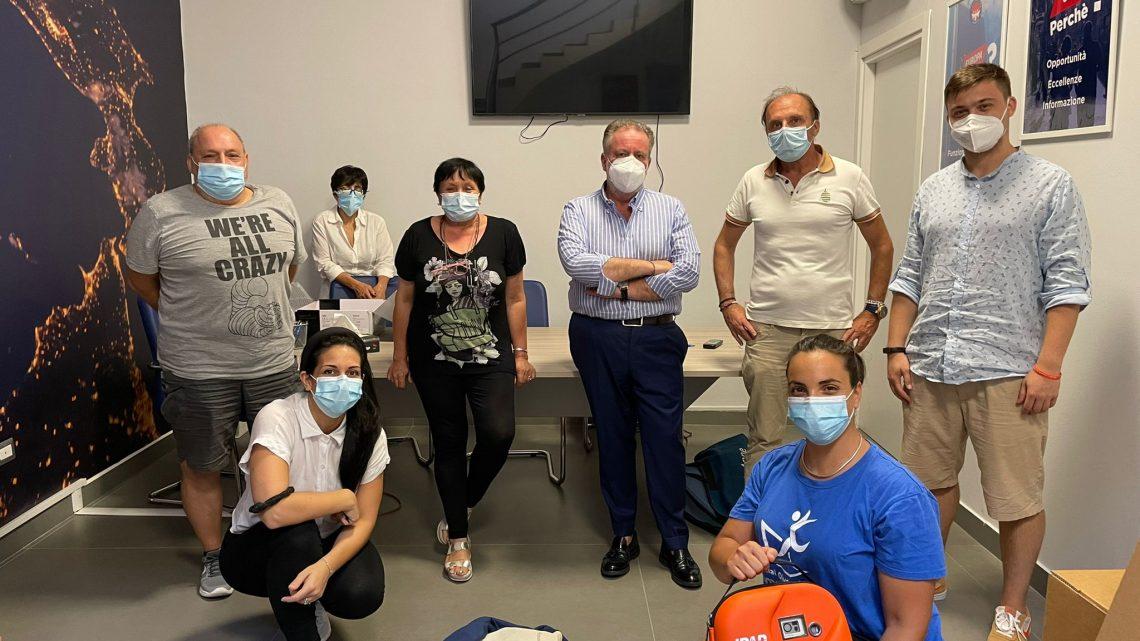 Nella sede della Fondazione Picentina il corso Blsd per l'utilizzo corretto del defibrillatore